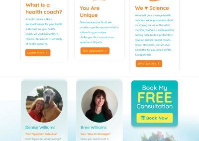 Health Coach Website